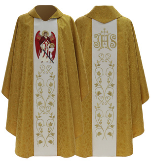 "Gothic Chasuble ""Archangel Raphael"" 474-GK16"