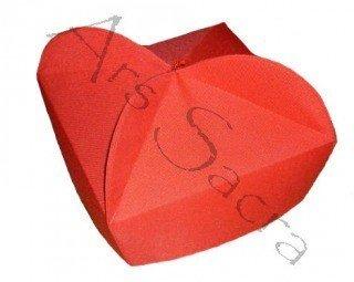 Red biretta 3 corner B-7