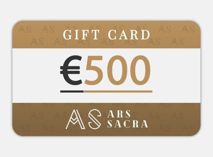 GIFT CARD 500 EUR