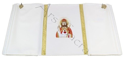 """Humeral Veil """"Christ the King"""" W9-K"""