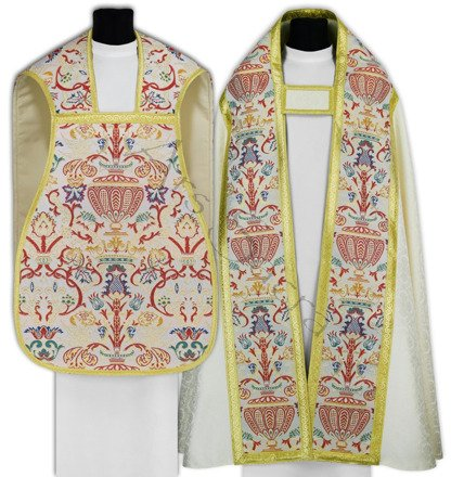 Set of Roman cope with Roman chasuble SET-KT-R115