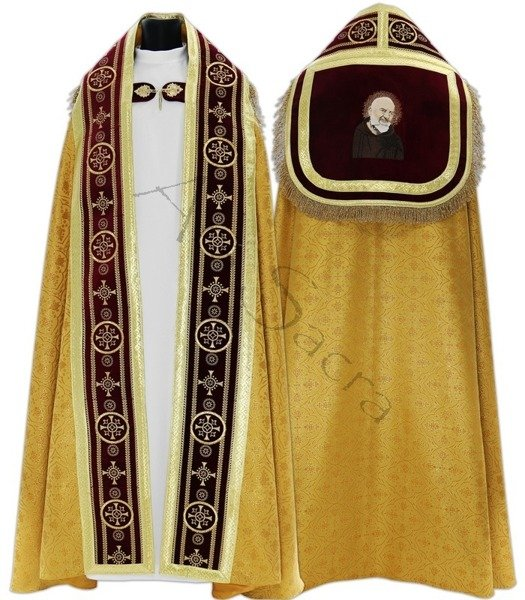 "Chape romaine ""Saint Padre Pio"" KT579-ACZ25h29"
