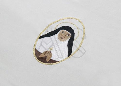 "Chasuble gothique ""Mariam Thresia Chiramel Mankidiyan "" 454-CZ25"