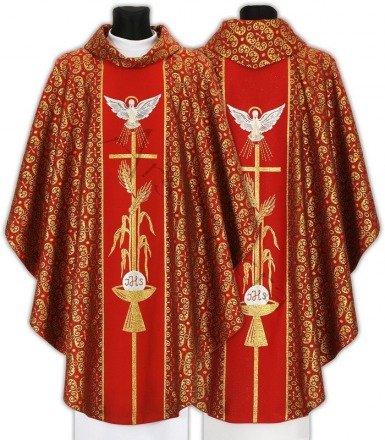 """Chasuble gothique """"Saint Esprit"""" 007-C34g"""