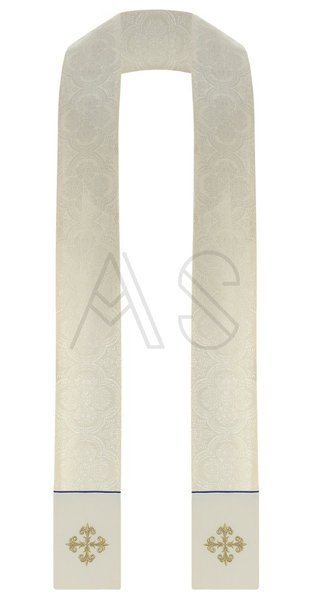 Chasuble semi-gothique mariale GY637-KN25