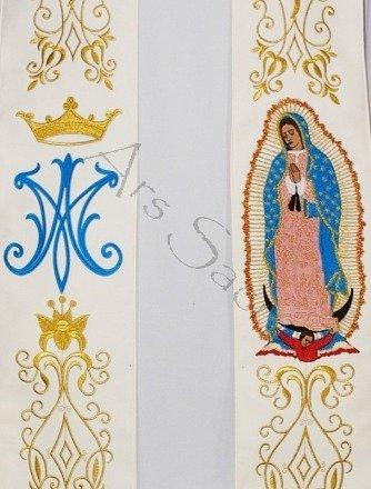 """Étole gothique """"Guadalupe"""" SH25-K"""