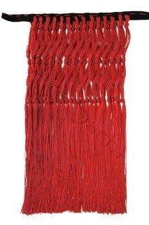 Czerwone frędzle FRINGES-C