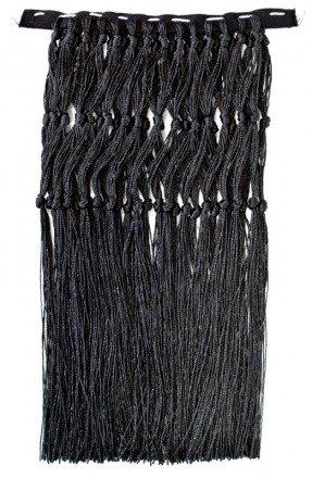 Czarne frędzle FRINGES-CZ