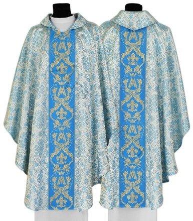 Maryjny ornat gotycki 081-N14