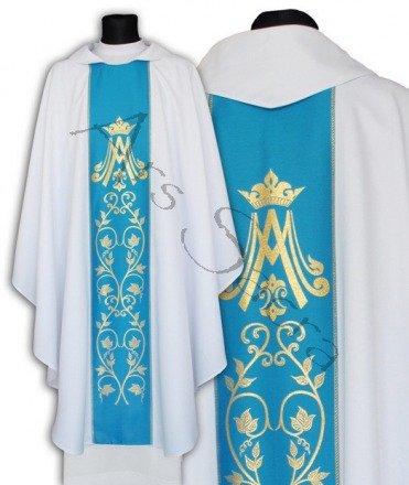 Maryjny ornat gotycki 085-BN