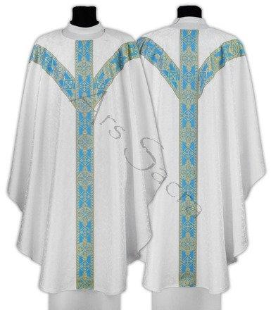 Maryjny ornat semi gotycki GY201-BN25