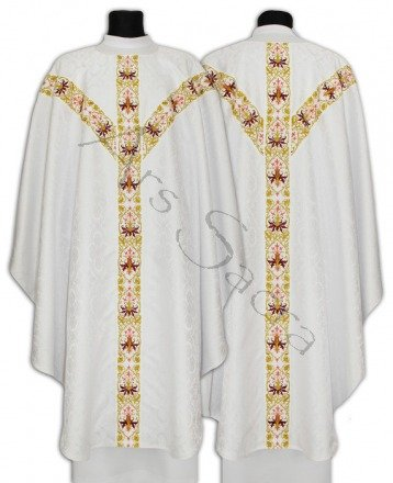 Ornat semi gotycki GY637-GC16