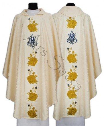 Casulla gótica mariana 636-K25