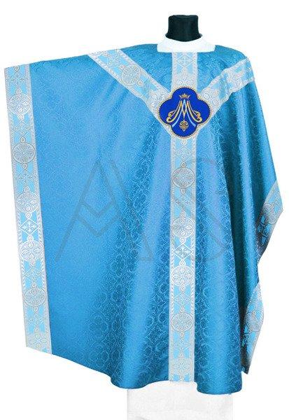 Casulla monástica mariana MXY214-N25