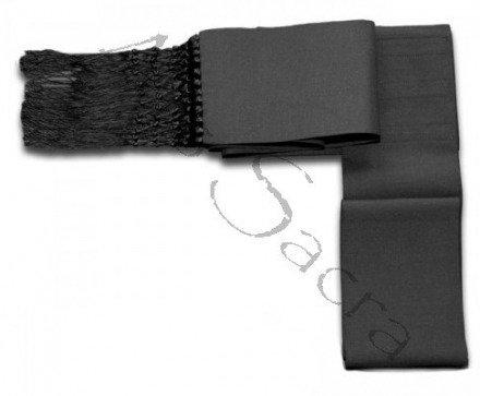 Cíngulo negro para sotana CIN-CZf