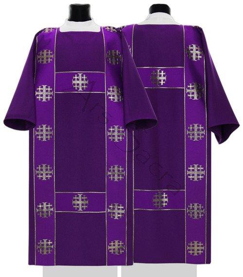 """Dalmática gótica """"Cruces de Jerusalén"""" DF103-F"""